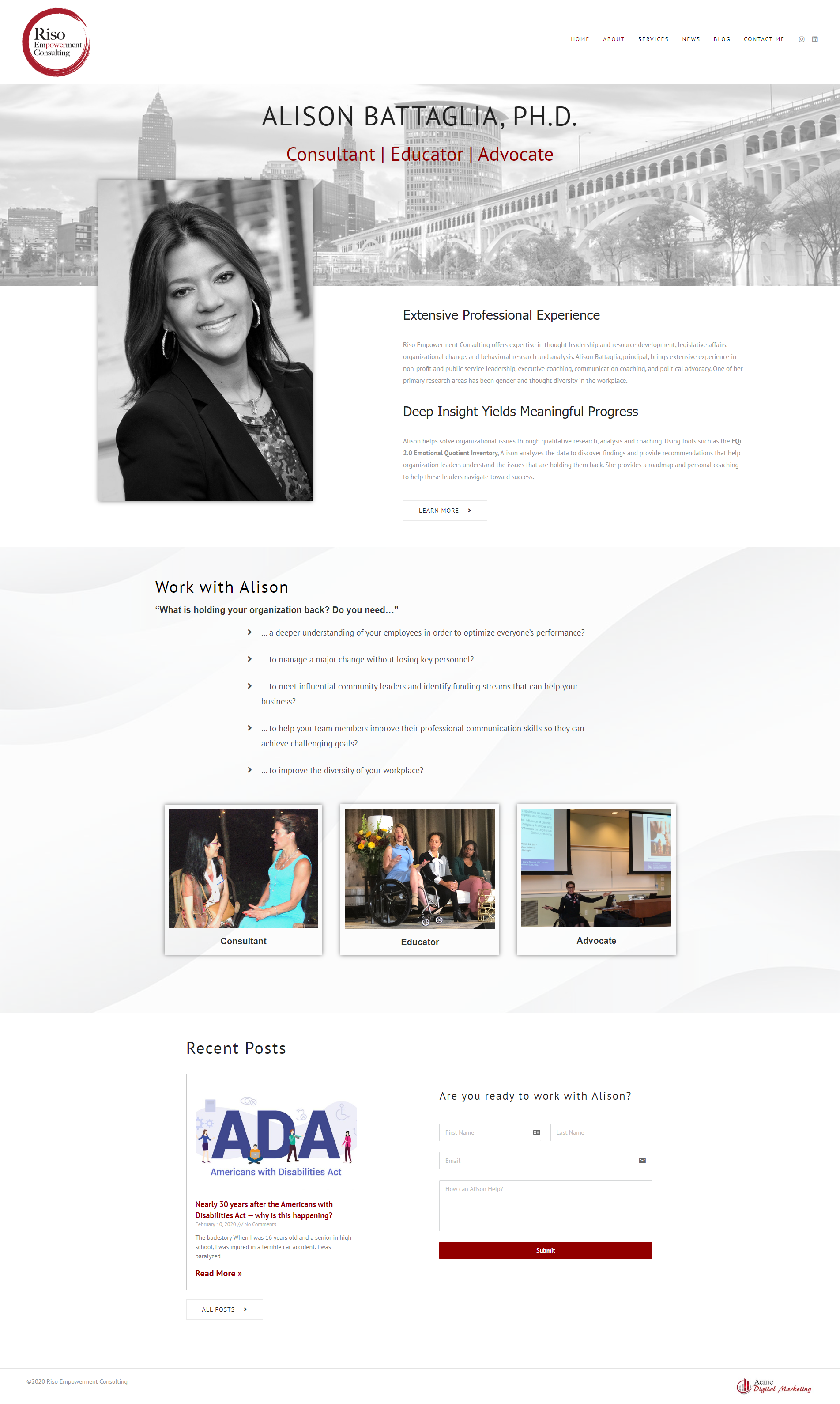 Website Design Consultant