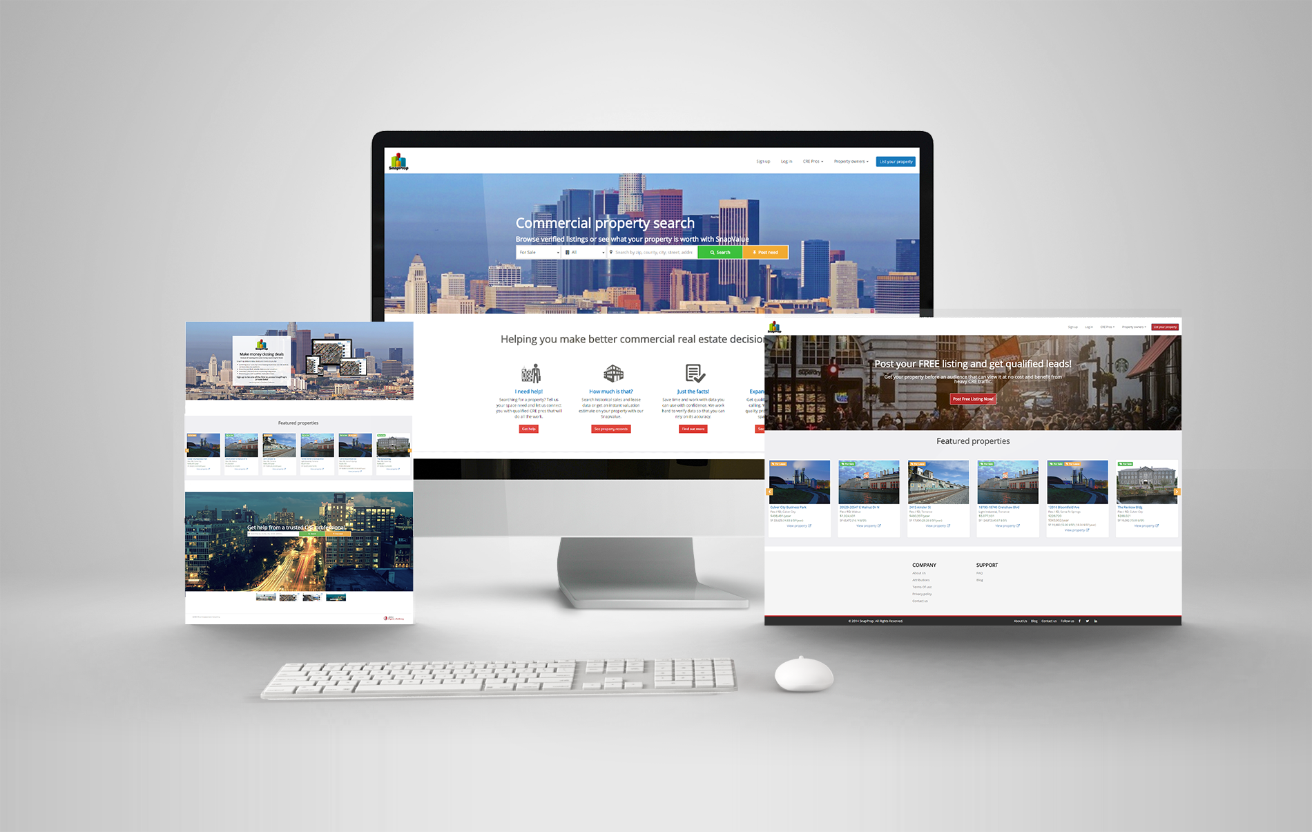 Responsive Website Design Real Estate