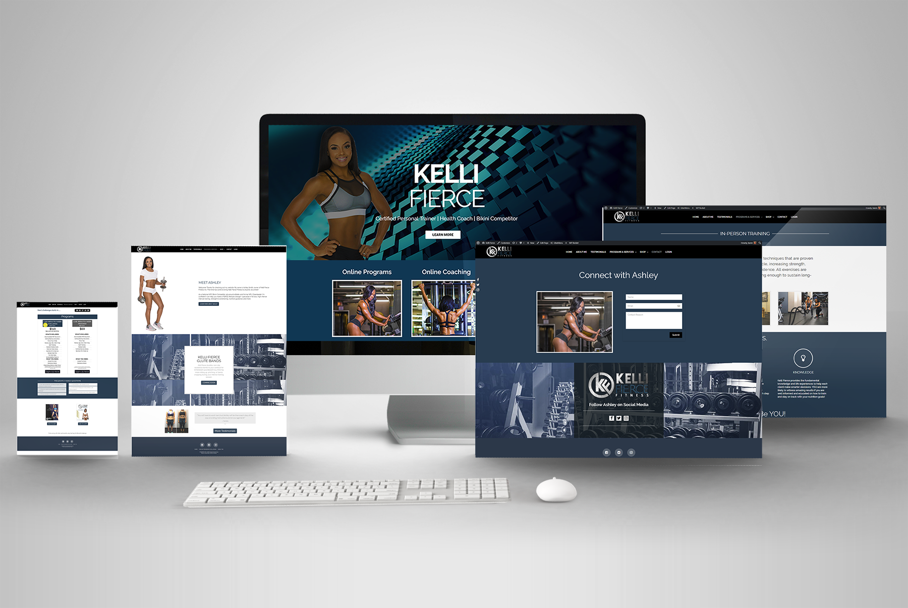 Responsive Website Design Fitness