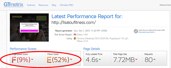 Health & Fitness Website SEO Case Study