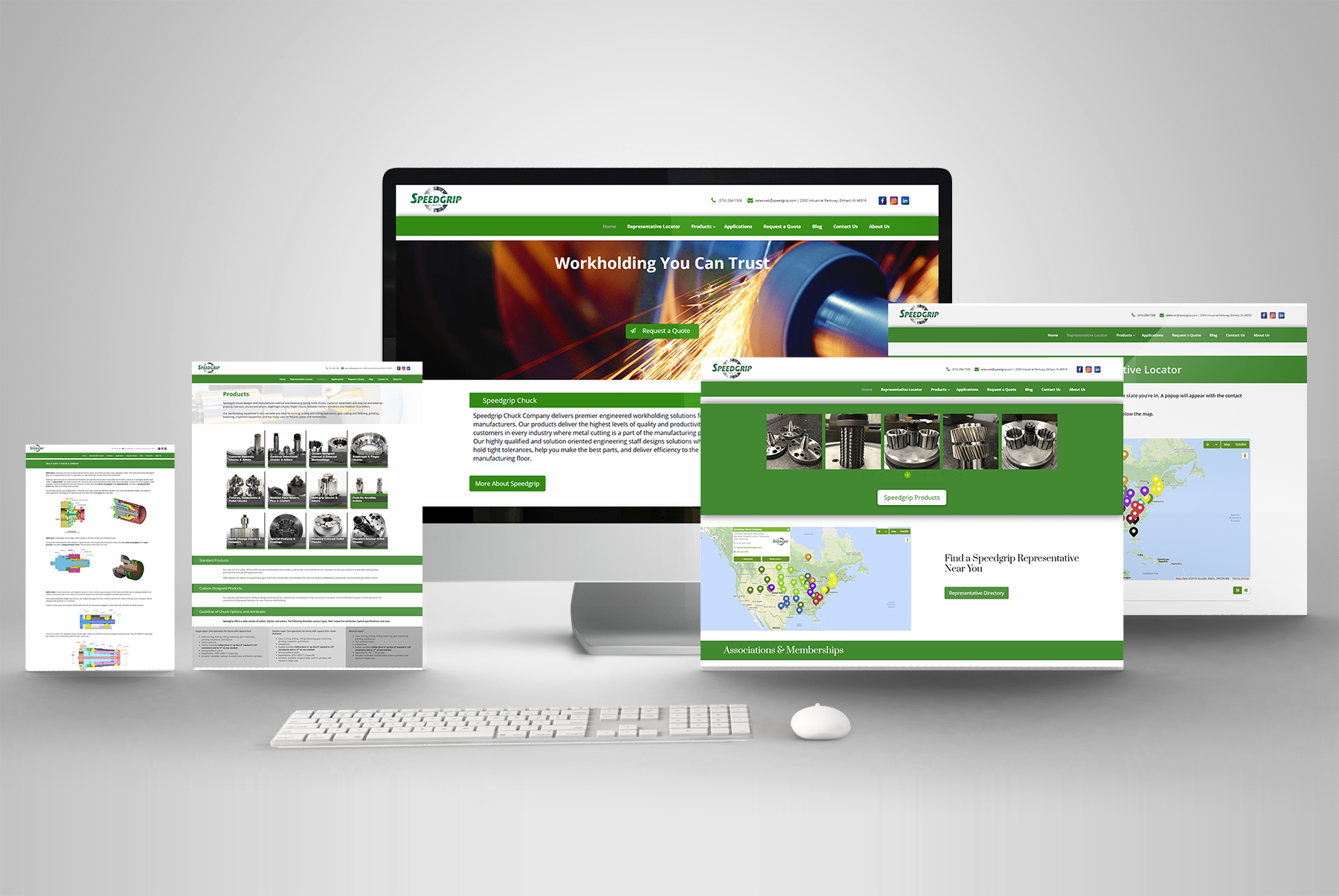 Responsive Website Design Manufacturing