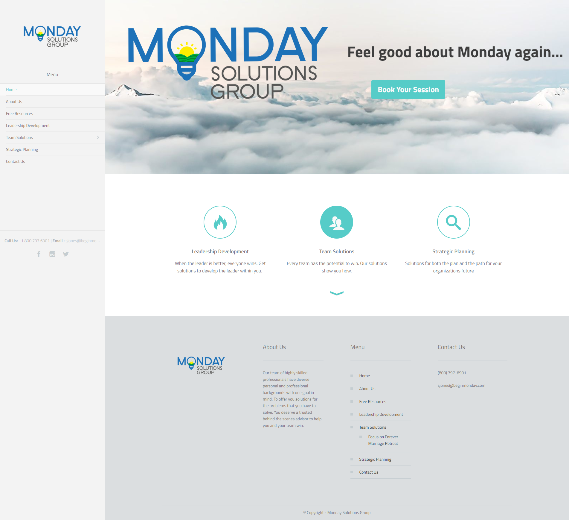 Monday Solutions Group – Feel good about Monday again!