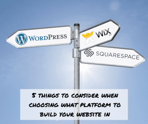 WordPress versus all-inclusive website builders
