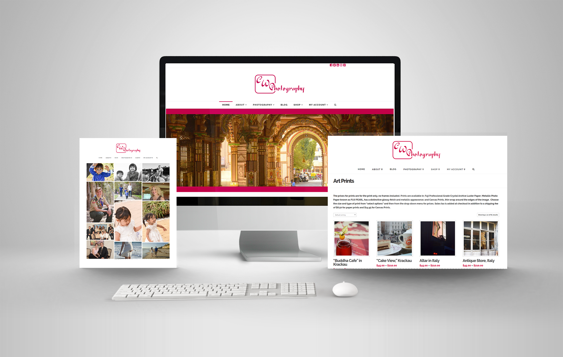 Responsive Website Design Photography