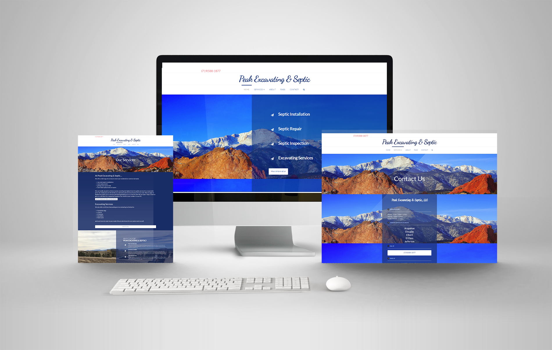 Responsive Website Design Plumber