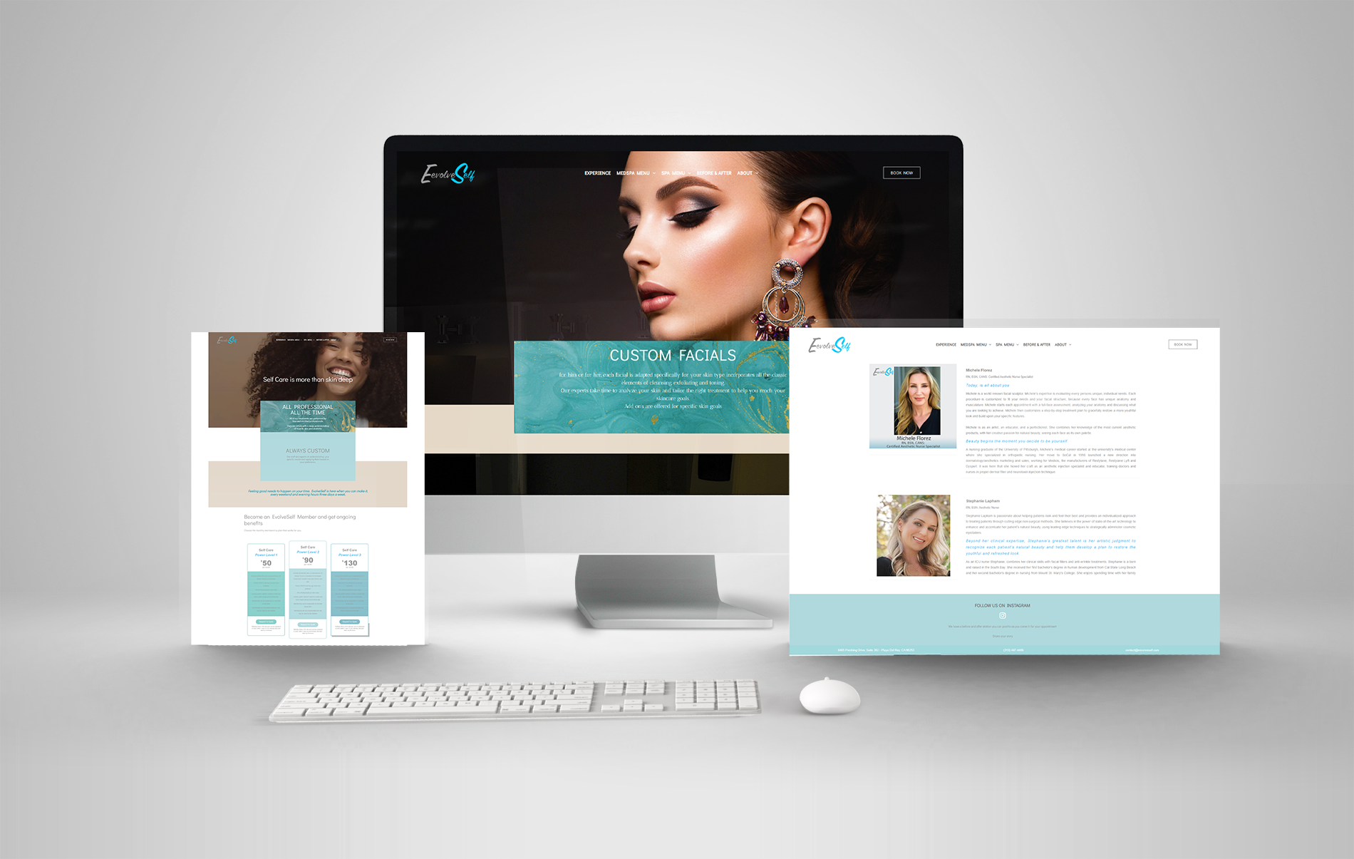Responsive Website Design Spa