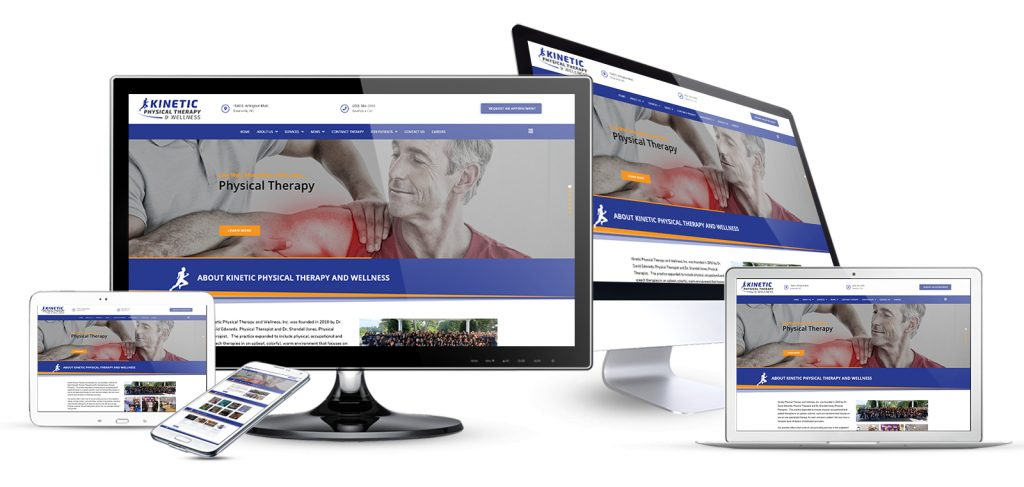 physical therapist website design