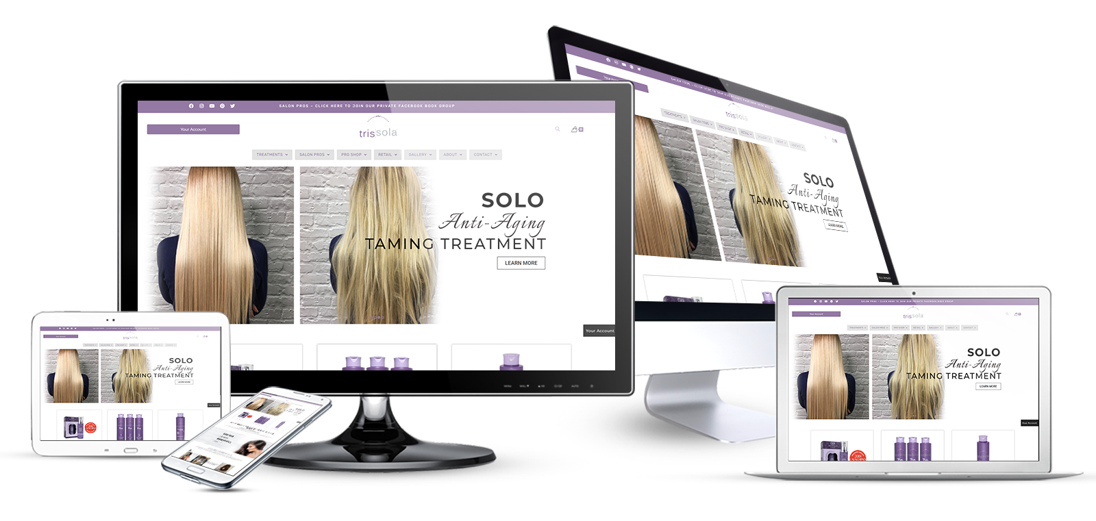 Ecommerce Website Redesign & SEO for Beauty Products